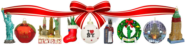 new york city christmas ornaments - New York Christmas Decorations