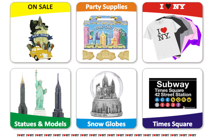 New York City Souvenirs and NYC Gifts